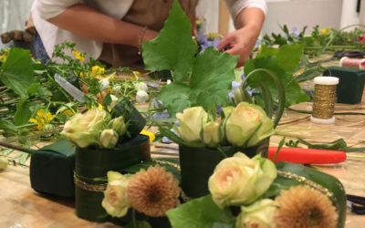 Moduli Formativi per composizione floreale